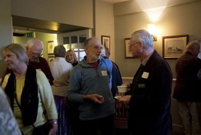 John Diplock (Spirit of Adventure) and Simon Dell (Moorland Guides)