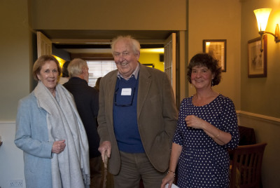 Pamela and Ian Mercer (ex DNPA) with Sue Viccars